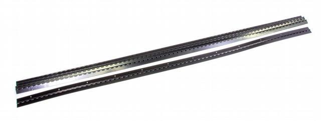 Aluminum Hinge Black 72in 5pk