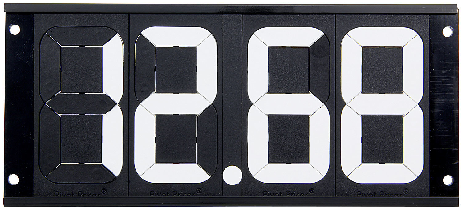 Dial-In Board 4 Digit w/ Mounting Holes
