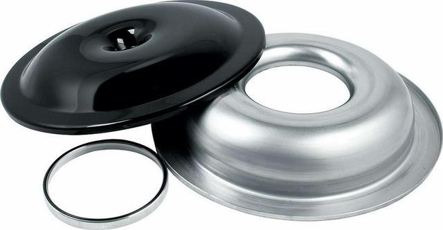 Air Cleaner Kit 14in Black w/.500 Spacer