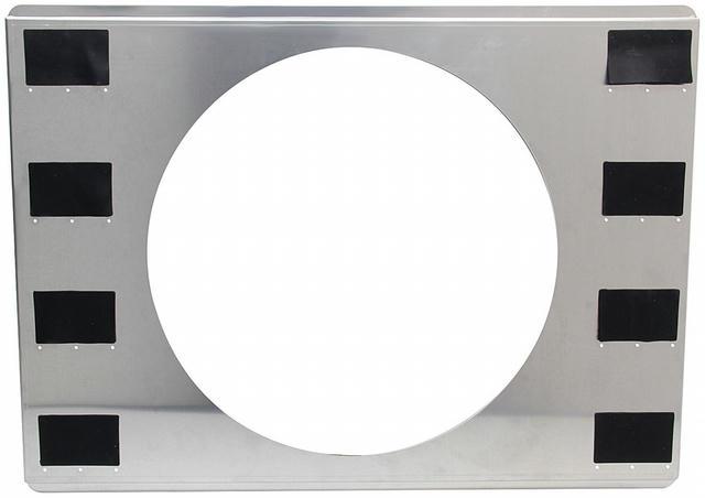 Aluminum Fan Shroud 25-3/4x18-3/4 Single 16