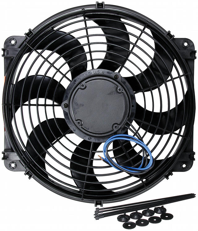 Electric Fan 14in Curved Blade