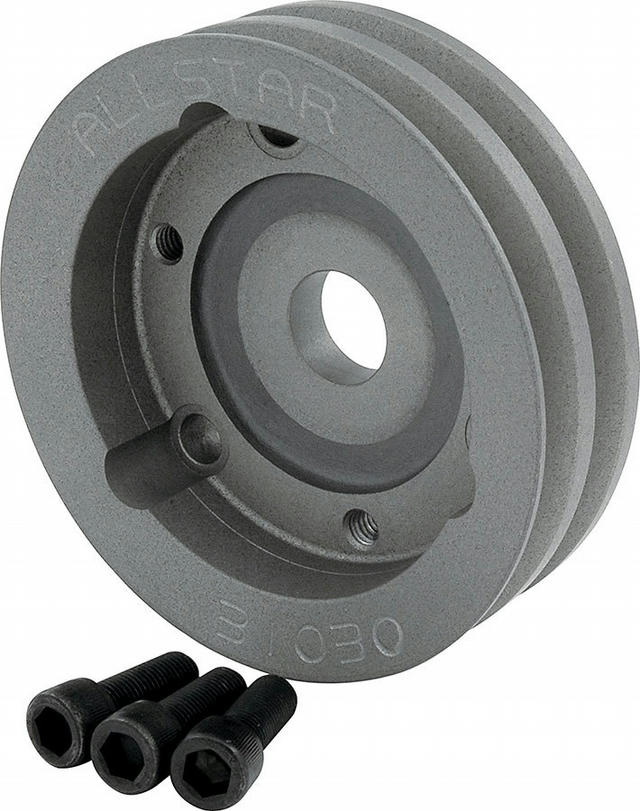 Crank Pulley 2 Groove 4.750in Dia