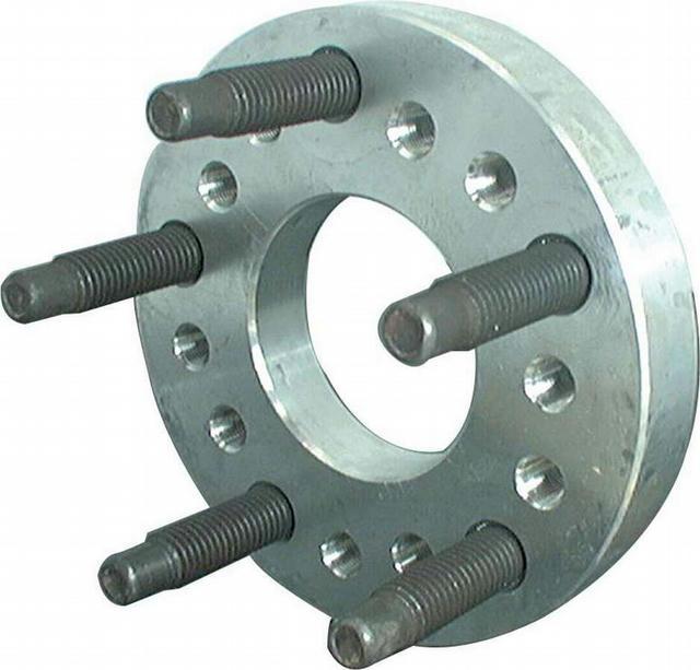 Wheel Adapter Aluminum 1in