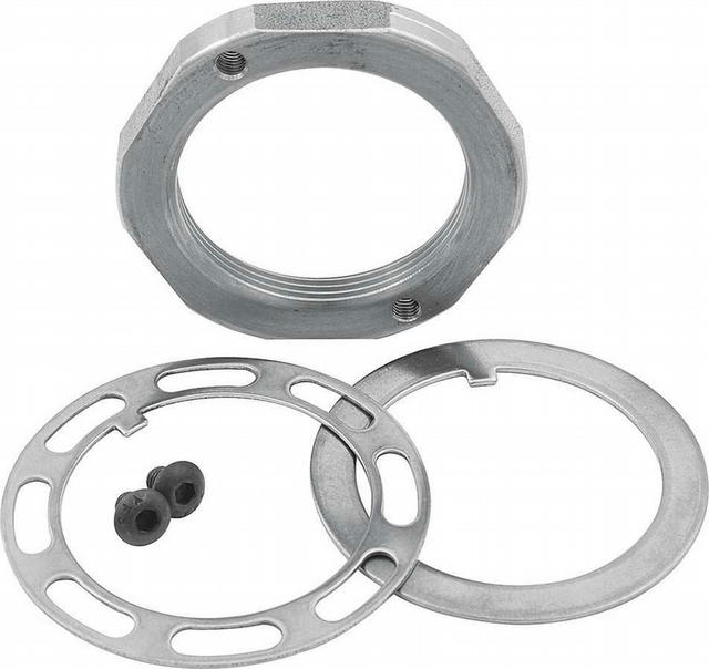 Spindle Nut Kit 2in Pin Steel