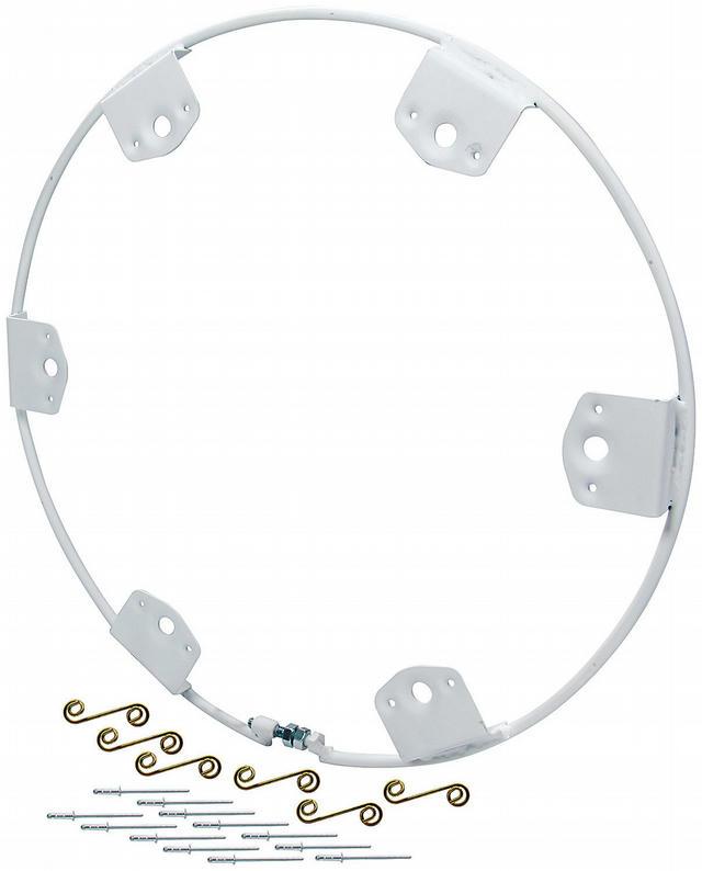 Wheel Ring Round Style Steel 6 Fastener Q-Turn