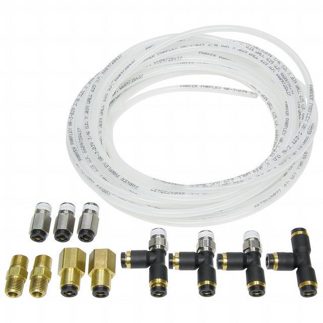 Nylon Brake Line Kit for use w/ Gauges