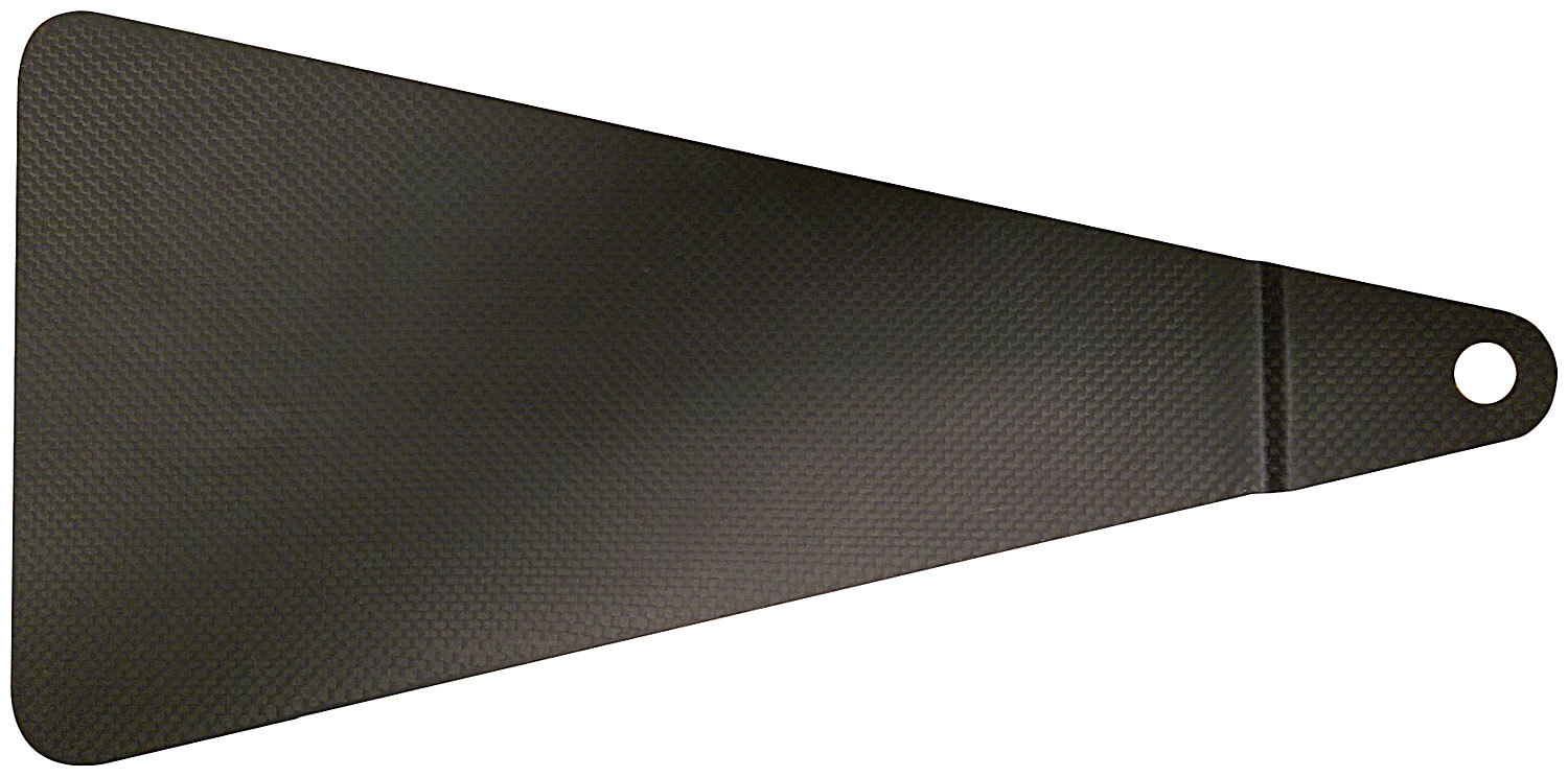 Jacobs Ladder Cover 1/2in Hole Carbon Fiber