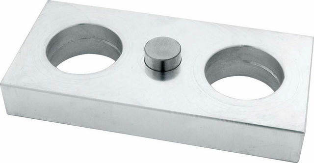Aluminum Lowering Block Billet .750in
