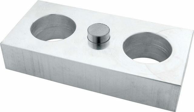 Aluminum Lowering Block Billet 1.00in