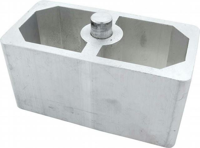 Alum Lowering Block 2.50in