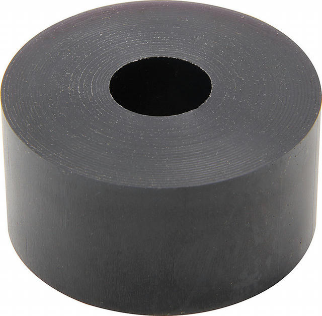 Bump Stop Puck 65dr Black 1in