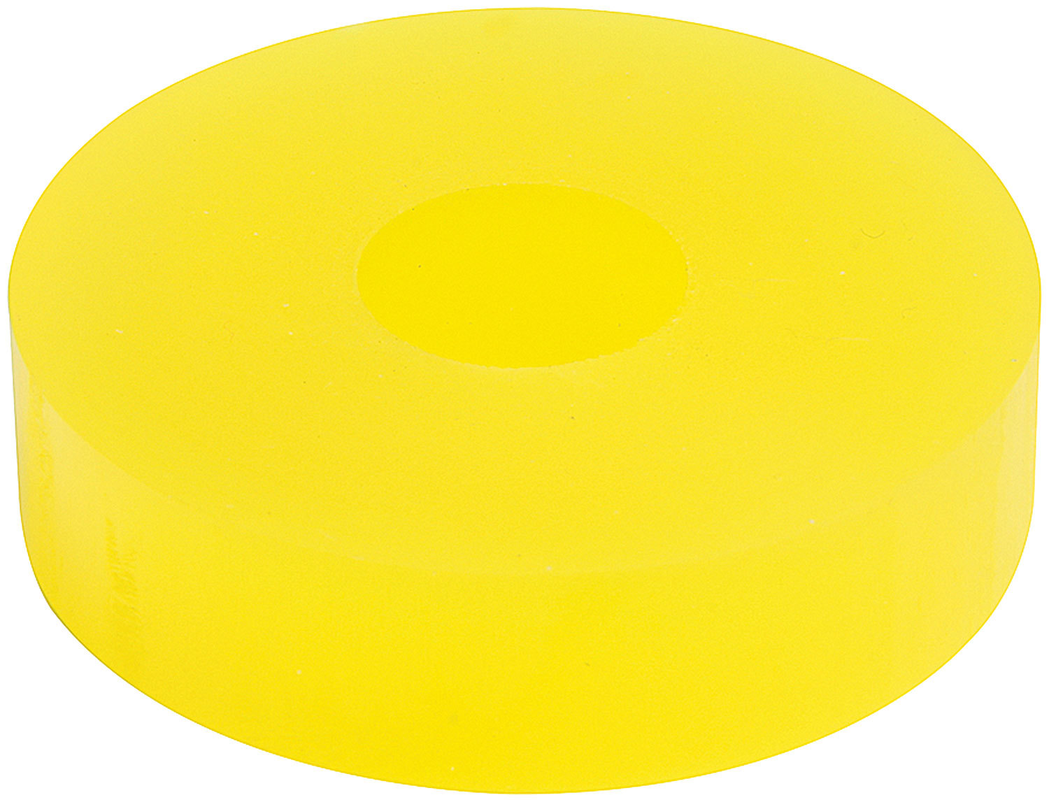 Bump Stop Puck 75dr Yellow 1/2in Tall 14mm