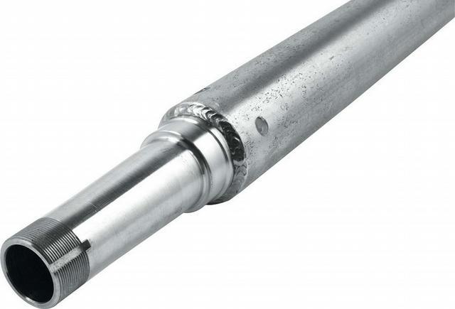 Steel Axle Tube Wide 5 28in