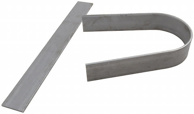 Driveshaft Loop 3/16in Flat Steel Unwelded 2pcs