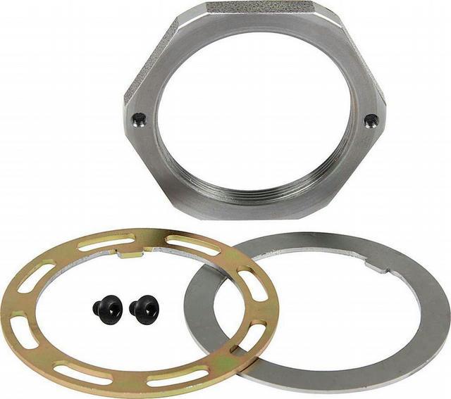 Spindle Nut Kit 2.5 Pin Steel RH Thread
