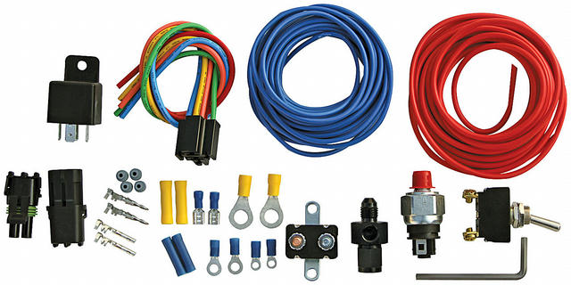 Nitrous Pressure Control Kit w/-4an Adapter