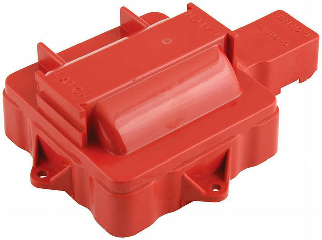 HEI Coil Cover Red