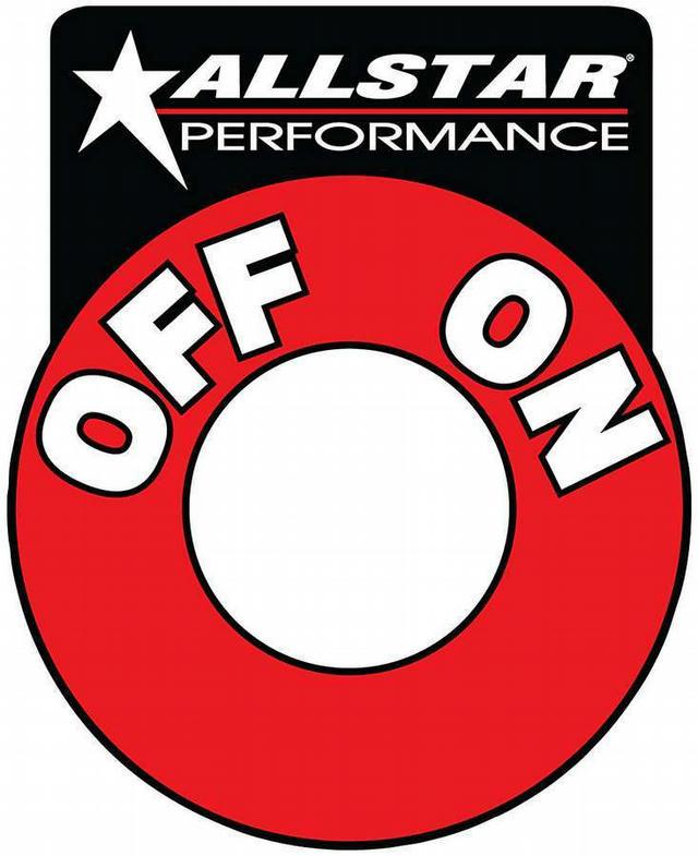 Repl On/Off Batt Disc Decal