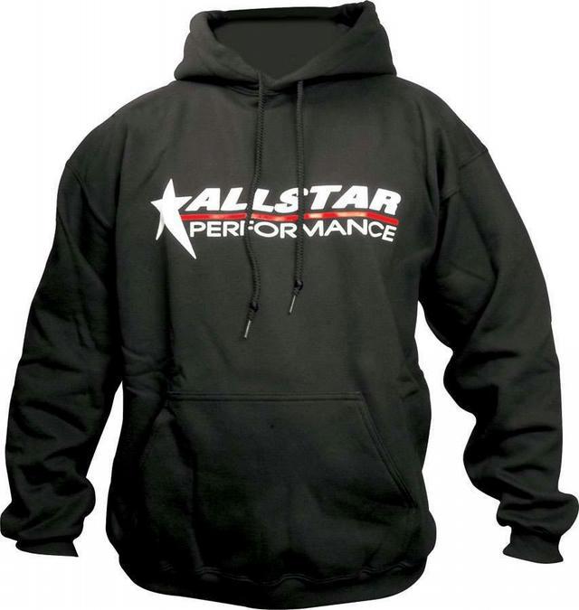 Allstar Hooded Sweatshirt Medium Black