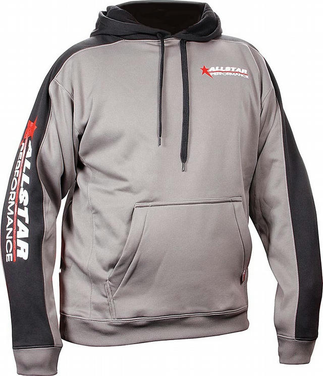 Allstar Hooded Sweatshirt Med Silver/Bl