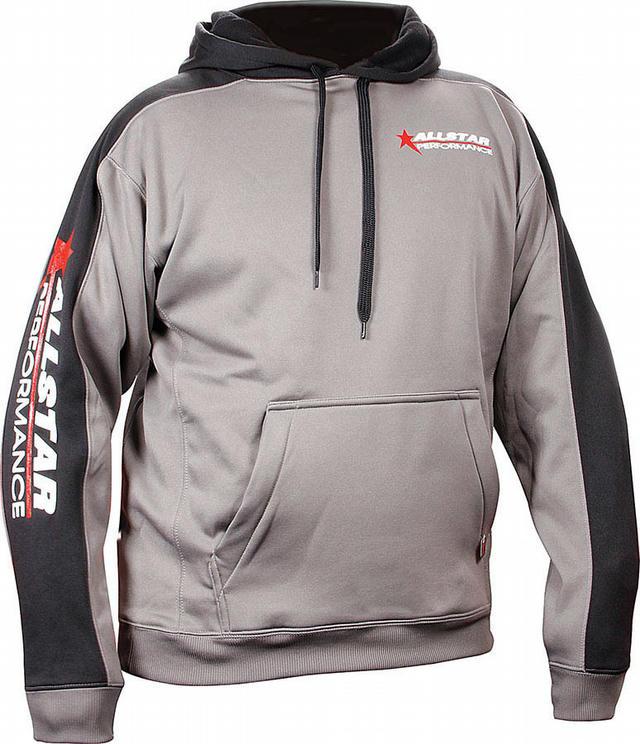 Allstar Hooded Sweatshirt Sm Silver/Blk