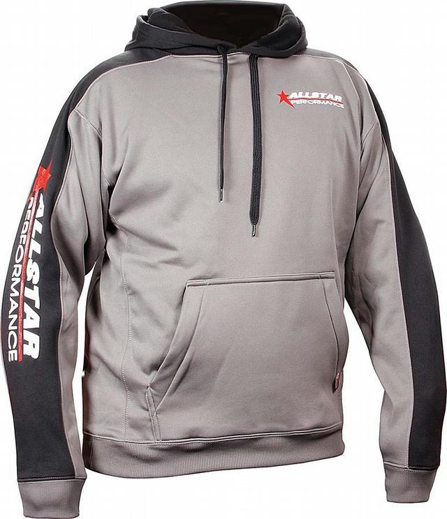 Allstar Hooded Sweatshirt XXL Silver/Bl