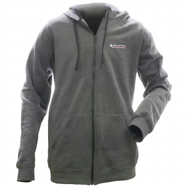 Allstar Full Zip Hooded Sweatshirt Charcoal XL