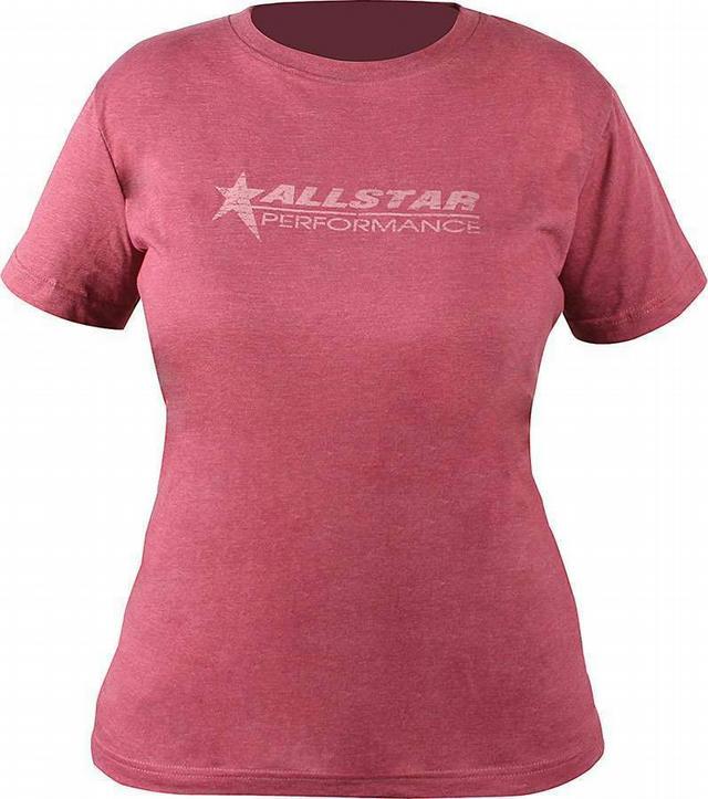 Allstar T-Shirt Ladies Vintage Burgundy X-Large