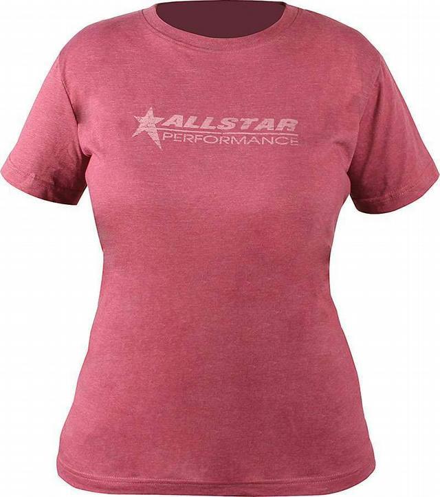 Allstar T-Shirt Ladies Vintage Burgundy XX-Lg