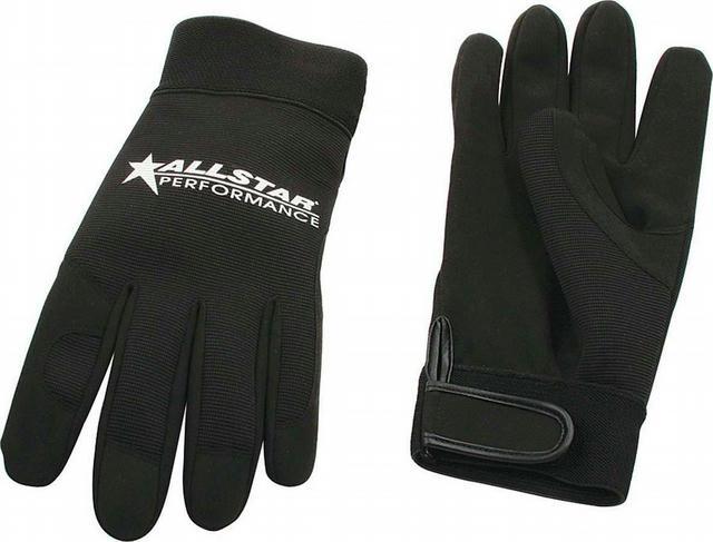 Allstar Gloves Blk X-Lg Crew Gloves