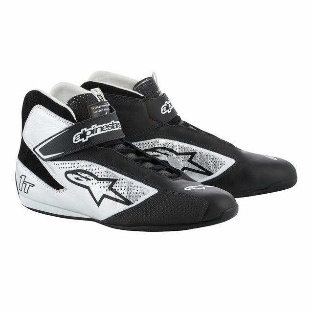 Tech 1-T Shoe Black / Silver Size 9.5