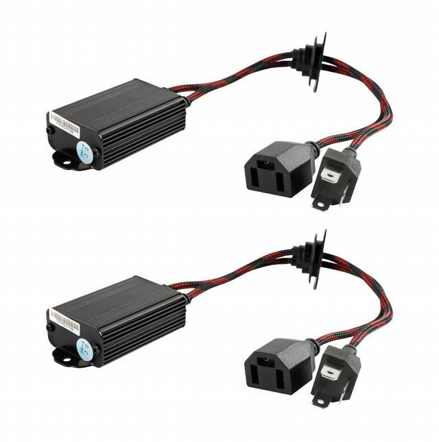 LED Decoder Harness Kit H4 Pair