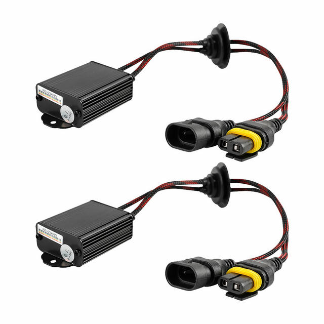 LED Decoder Harness Kit 9005/9006/9012/H10 Pair