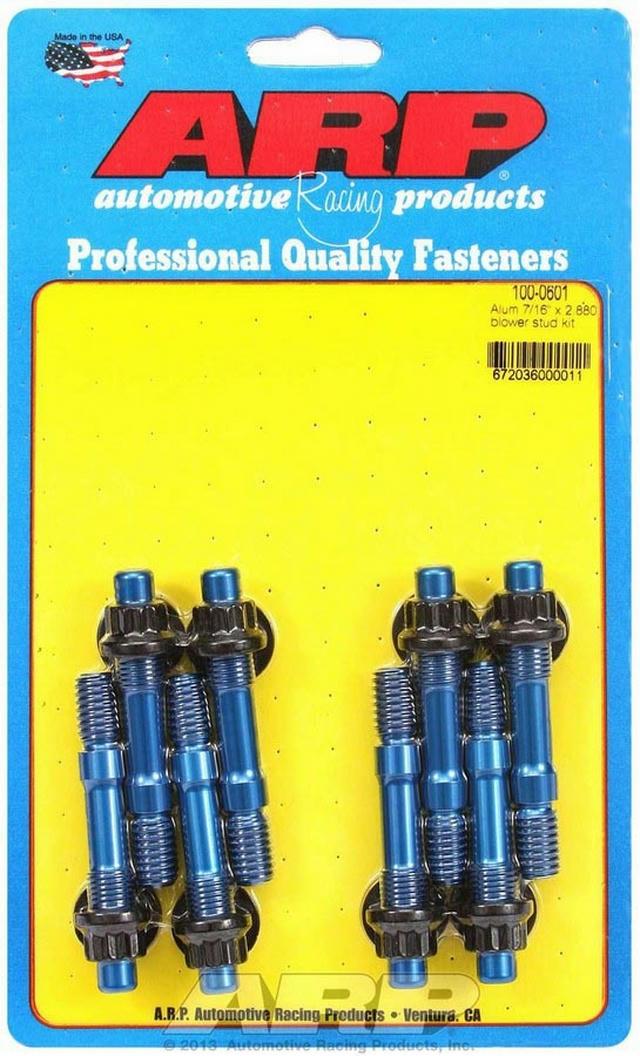 Aluminum Blower Stud Kit 7/16 x 2.880 OAL