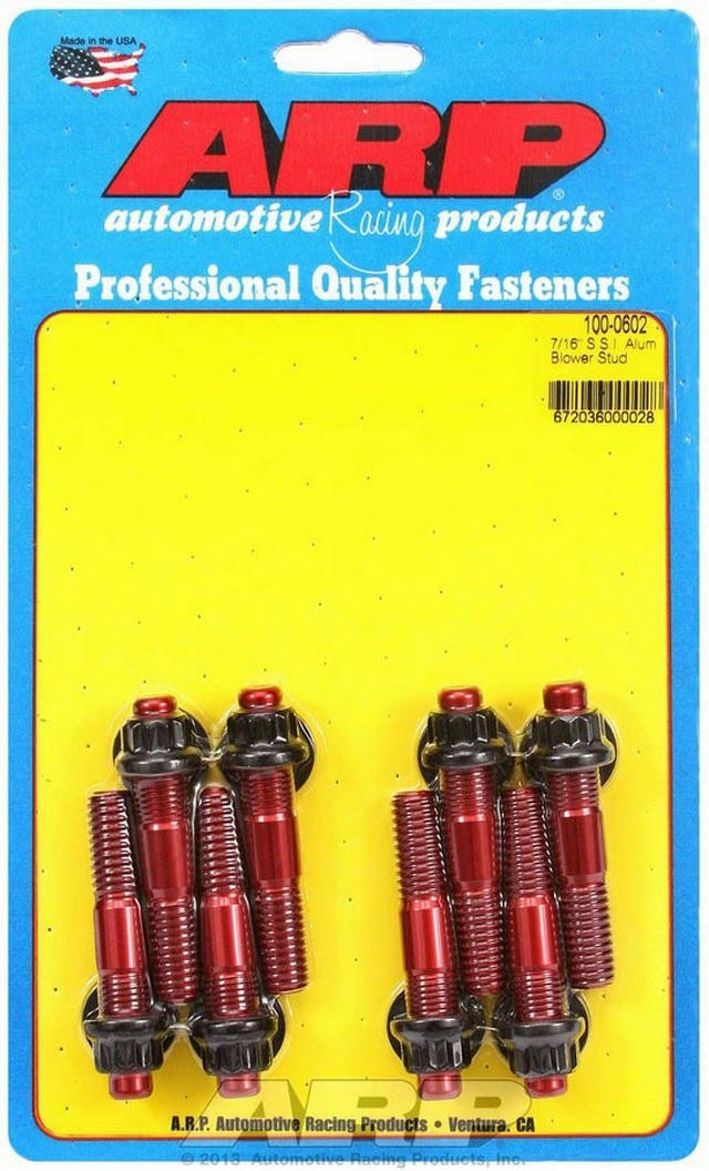 Aluminum Blower Stud Kit 7/16 x 2.500 OAL