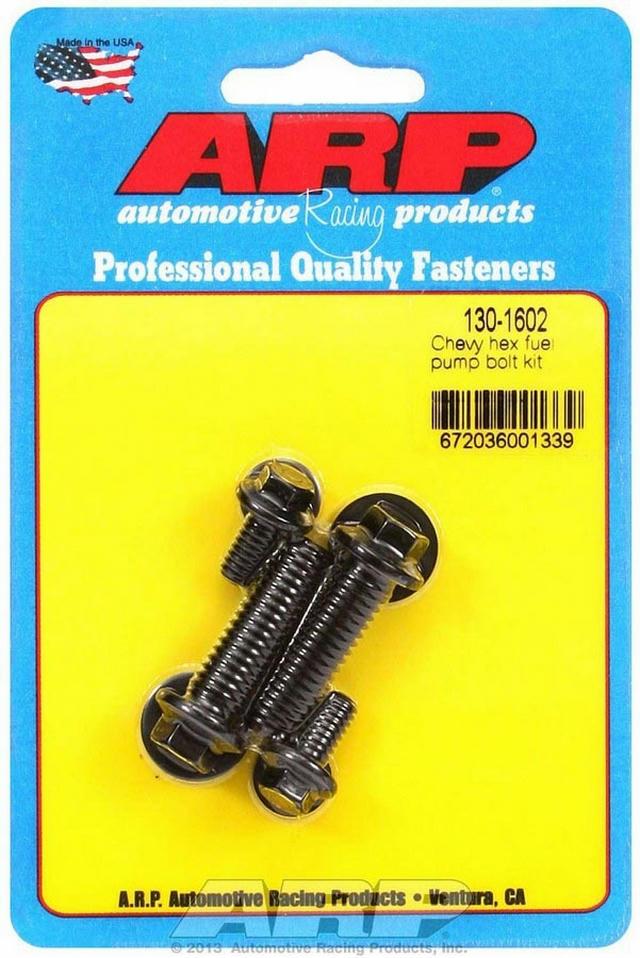 Chevy Fuel Pump Bolt Kit - 6pt.