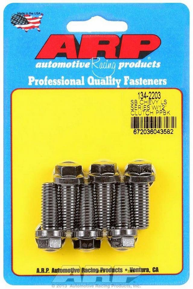 Clutch Pressure Plate Bolt Kit GM LS Engines