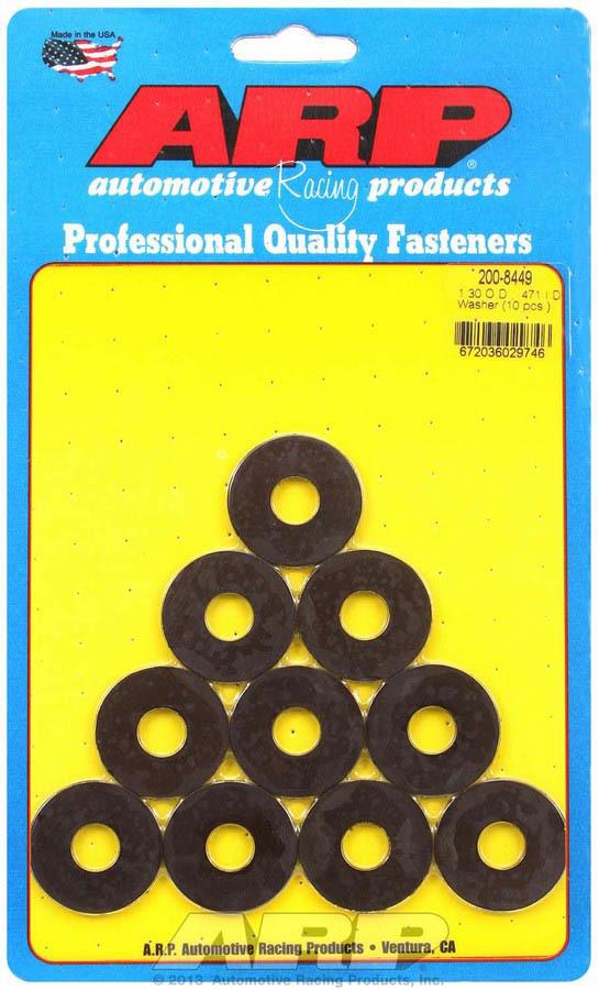Black Washers - .471 ID x 1.300 OD (10)