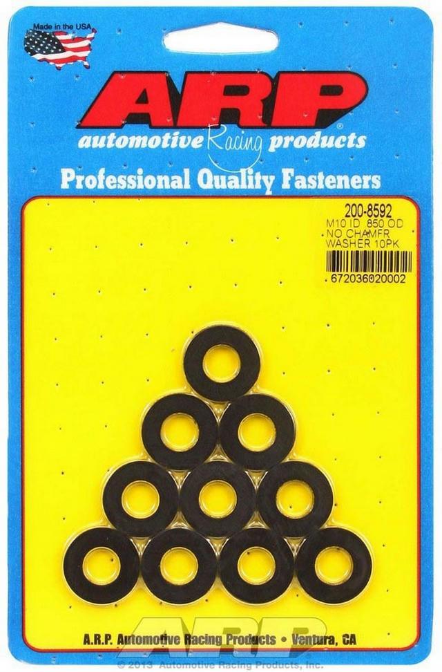 Black Washers - 10mm ID x .850 OD (10)