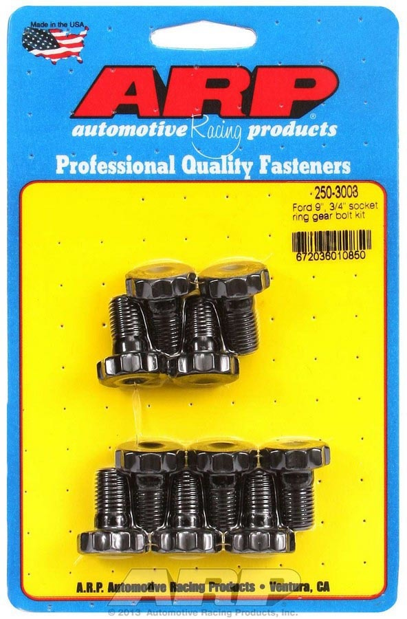 Ford 9in Ring Gear Bolt Kit .750 UHL