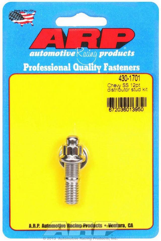 S/S Chevy Distributor Stud Kit 12pt.