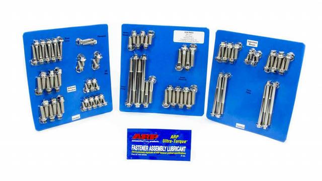 SBC S/S Complete Engine Fastener Kit 6pt.