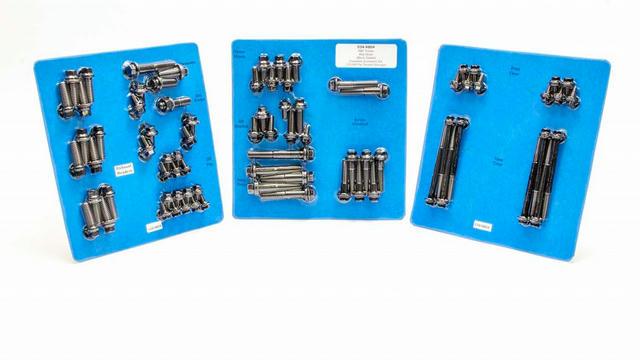 SBC Complete Engine Fastener Kit 6pt.