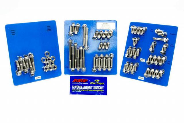 BBM S/S Complete Engine Fastener Kit 6pt.