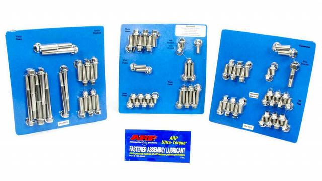 Pontiac S/S Complete Engine Fastener Kit 6pt.