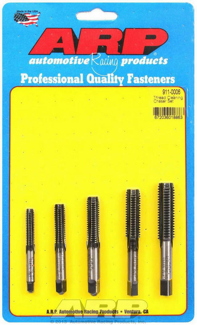 Thread Cleaning Tap Set 5pc.