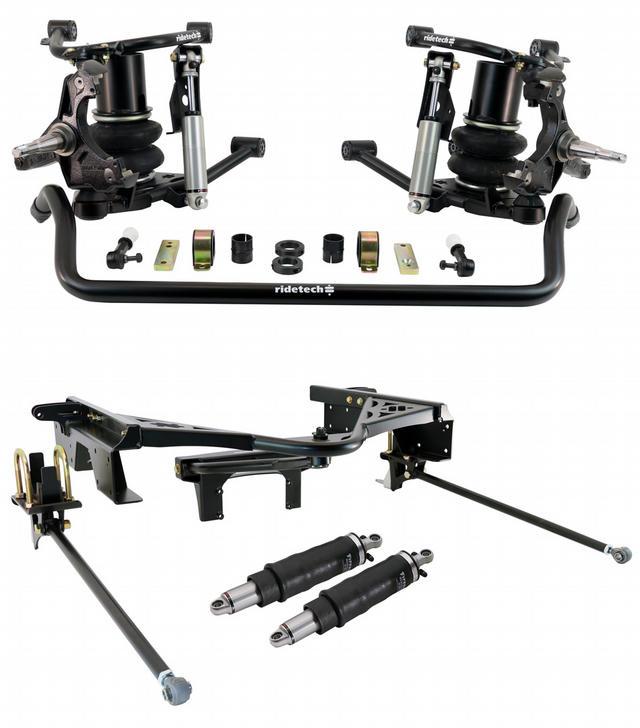Air Suspension System 88-98 GM P/U C1500