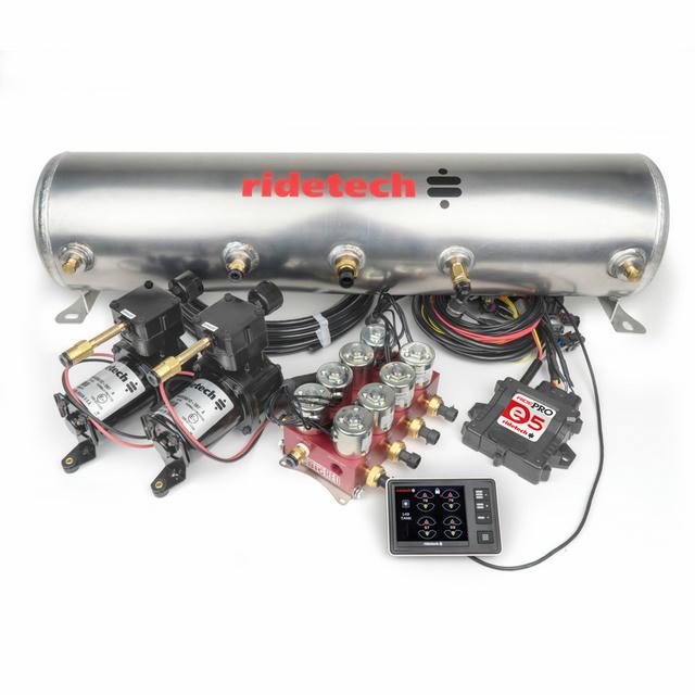 RidePro E5 5 Gallon Dual Compressor 3/8in Valves
