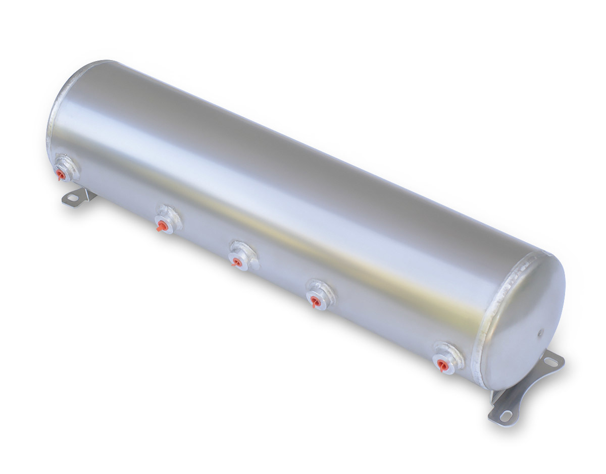 Air Tank 5 Gallon Aluminum. 30in x 7in