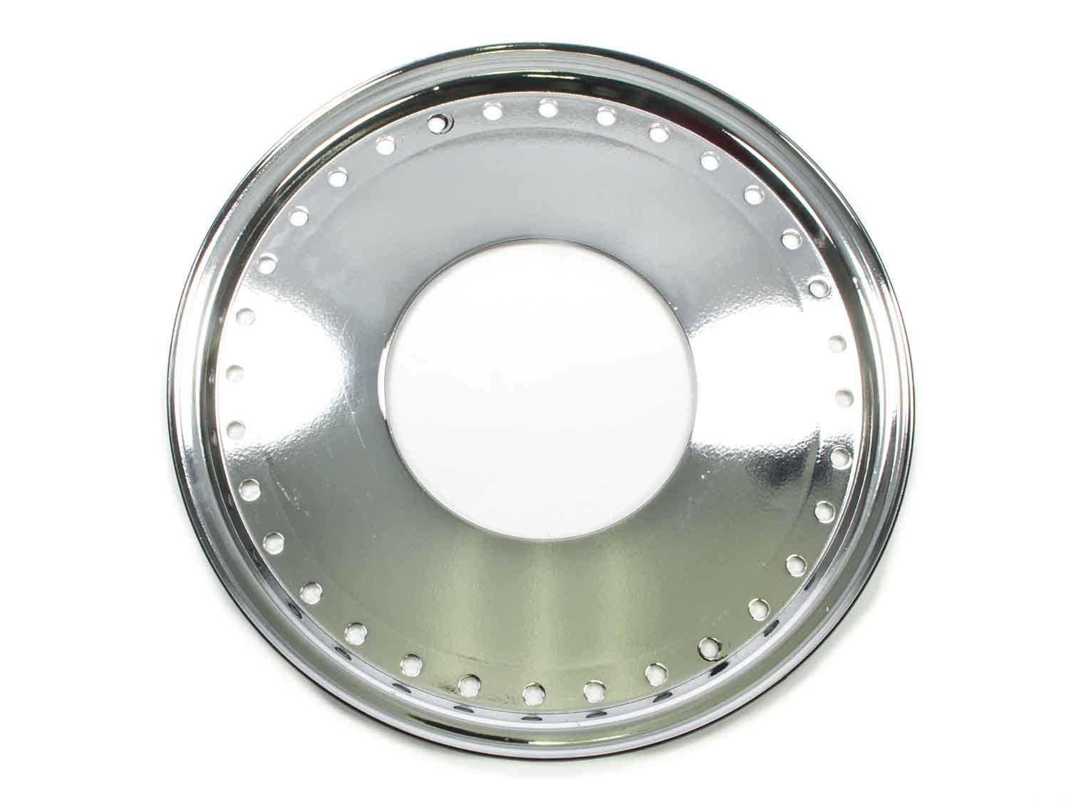 Mud Buster 1pc Ring and Cover Chrome